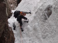 Crowberry Gully, Buachaille Etive Mor