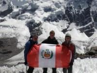 Up a small hill in Peru!